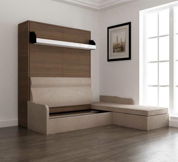 Wall Mounted L Shape Sofa Beds